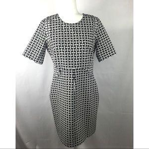 Diane Von Furstenberg Black and White Dress 12
